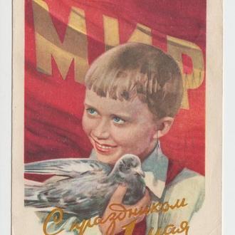 С праздником 1 Мая 1958 Павлов Р8