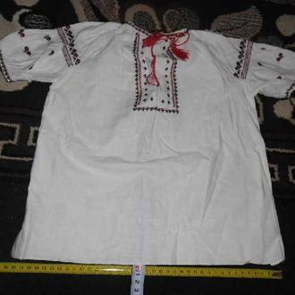 вишита сорочка без дефектiв дитяча (№692)