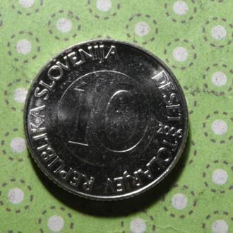 Словения 2006 год монета 10 толаров лошадь !