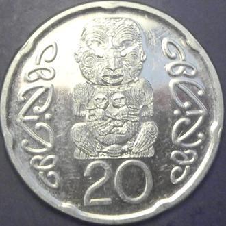 20 центів 2014 Нова Зеландія