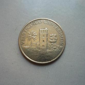 Панама 25 сентесимо 2003 юб