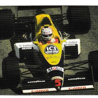 Календарик 1997 Авто, спорт, Формула 1