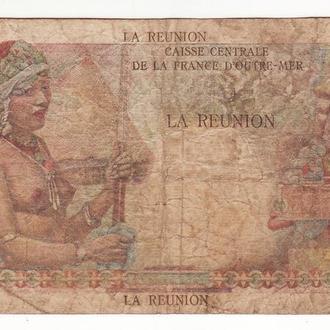 Реюньон Reunion 50 франков редкая колония! 1947