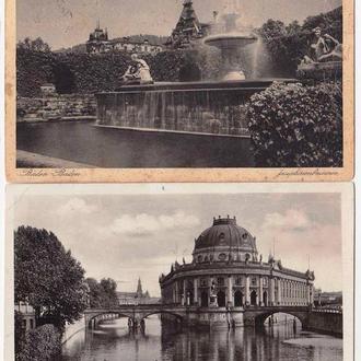 Архитектура .  Германия Рейх  - 2ПК   - 2а скана - замки и дворцы
