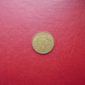 Тунис 1 франк 1945