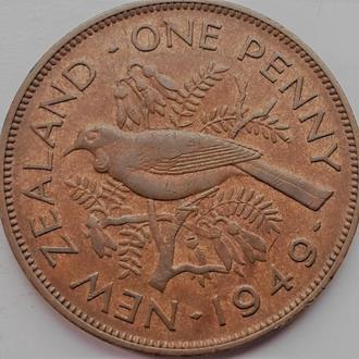 Новая Зеландия  1 Пенни 1949 год
