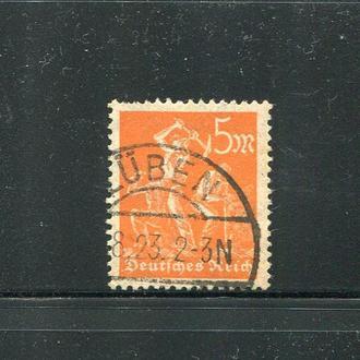 ГЕРМАНИЯ 1922 РАБОЧИЕ  ЧЕТКОЕ ГАШЕНИЕ