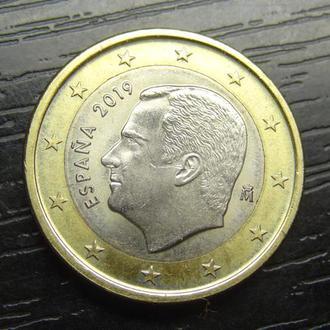 1 євро Іспанія 2019
