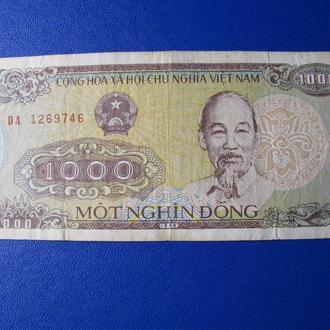1000 Донг В'єтнам Вьетнам 1988