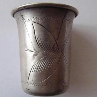 Рюмка стопка. Серебро 84 пробы (вес-21,7гр)