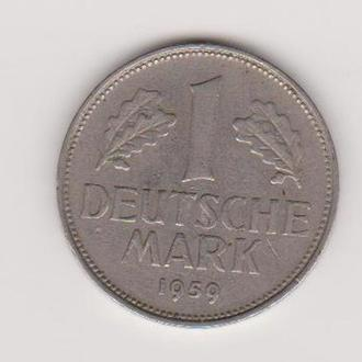1959 Германия 1 марка F