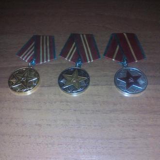 Медали за выслугу все СССР.