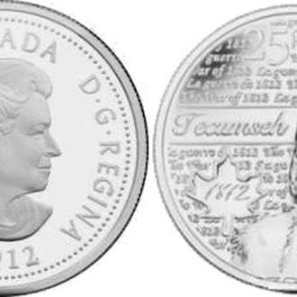 Shantaaal, Канада 25 центов 2012, Текумсе