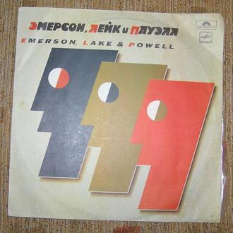 Виниловый диск, пластинка Эмерсон, Лейк и Пауэлл