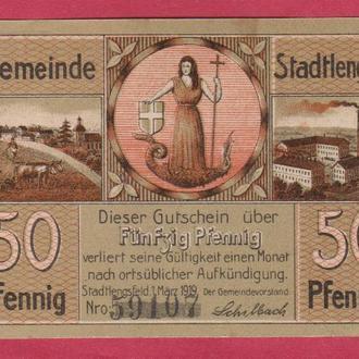 Германия Нотгельд г.Stadtlengsfeld. 1шт.