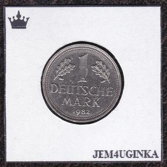Германия. 1 марка 1982 г. ( J )