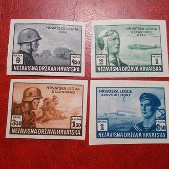 225.D.Reich--Хорватія легіон..mh