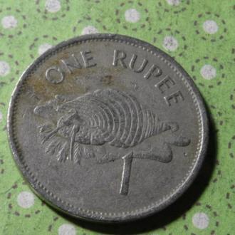 Сейшелы 1992 год монета 1 рупия