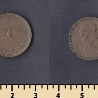 Канада 1 цент 1967