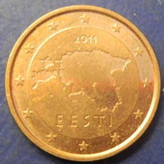 2 євроценти 2011 Естонії