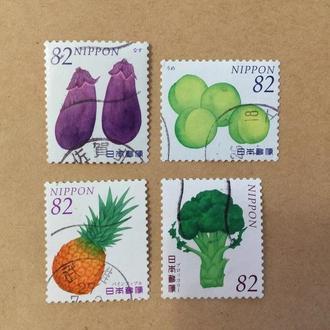 Япония/ Флора/ овощи/ фрукты/ растения