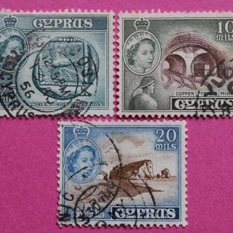 Марки Британских колоний. Кипр.