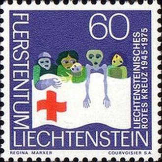 Лихтенштейн 1975 Красный крест