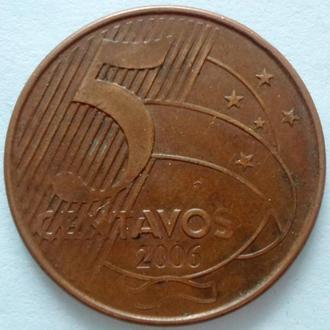 (А) Бразилия 5 сентаво, 2006