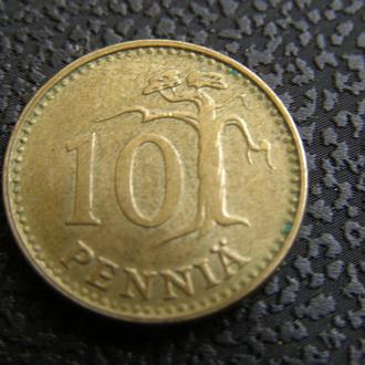 10 пенни 1971 Финляндия