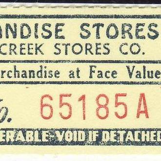 Шпицберген США купон 1 цент 1915 г. UNC