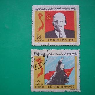 Вьетнам  1970 Ленин *