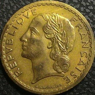 Франция 5 франков 1946 год БРОНЗА!!!! РЕДКАЯ!!!!!