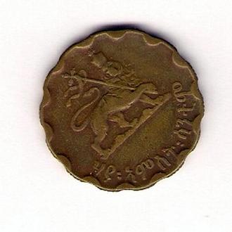 25 центов 1944г, Эфиопия.