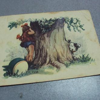 открытка игра в прятки зубковский 1956 №3263
