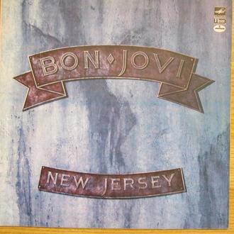 LP Bon Jovi New Jersey NM- Rus