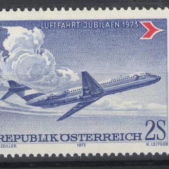 Австрия - самолет 1973 - Michel Nr. 1413 **