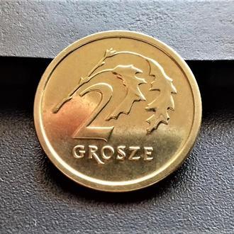 MN Польша 2 гроша 2014 г.