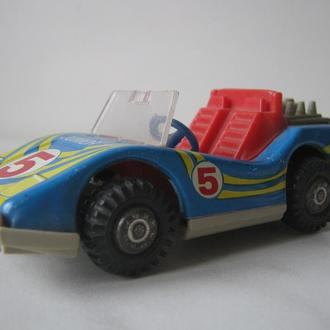 Игрушка СССР - машинка - гоночный автомобиль