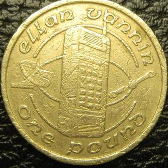 1 фунт 1988 AA о.Мен