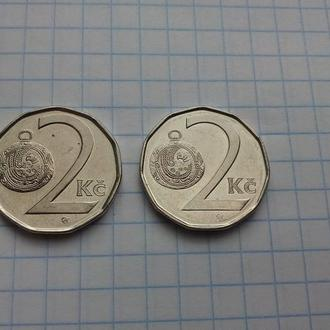 Чехия 2 кроны 2018