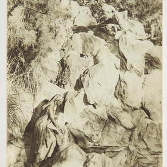 Открытка. Крым-33. 1930-е.