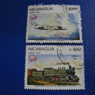 Транспорт Літак Потяг Нікарагуа 1982