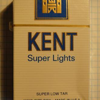 Сигареты KENT Super Lights USA