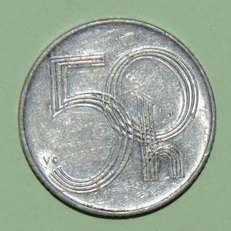 (А) Чехия 50 геллеров, 1996