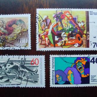 ФРГ.1974/89гг. Искусство. Живопись.