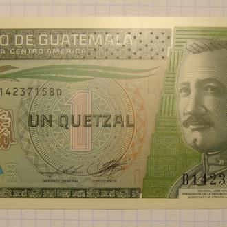Гватемала 1 кетцель - 2012