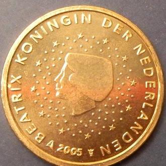 2 євроценти 2005 Нідерланди UNC рідкісна
