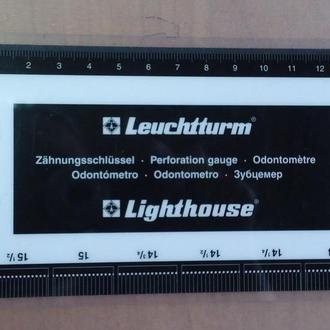Зубцемер для марок Leuchtturm Lighthouse