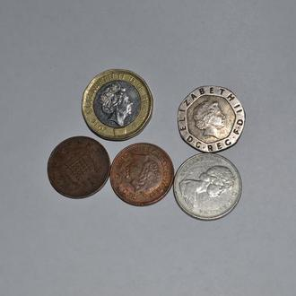 монеты британии.