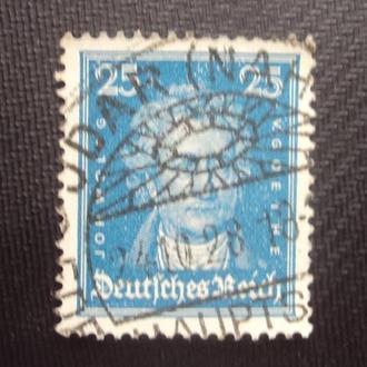Германия 1926-27г. гашение.